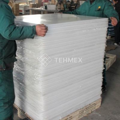 Полиэтилен листовой 10x500x500 мм TECAFINE PPH