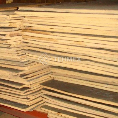 Эбонит лист 10x1000x500 мм ГОСТ 2748-77