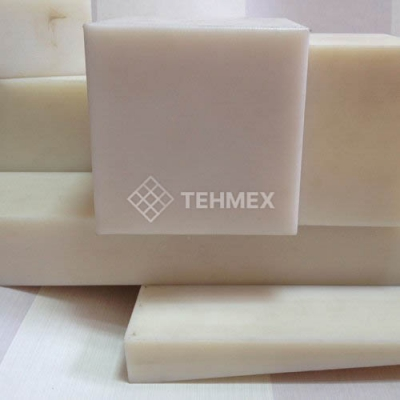 Капролон блок (обязательна термообработка) 80x700x500 мм ПА-6(ПОЛИАМИД)