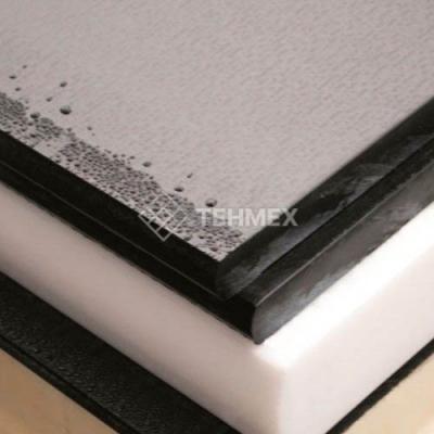 Капролон графитонаполненный лист 150x600x600 мм ТУ 6-06-38-89