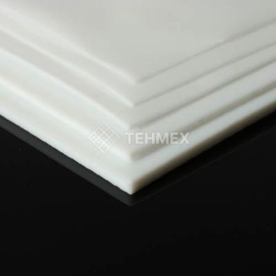 Политетрафторэтилен пластина 80x600x600 мм TECAFLON PTFE