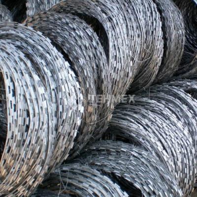 Спиральный барьер безопасности СББ АКЛ 500/50/3 500x50x10 мм