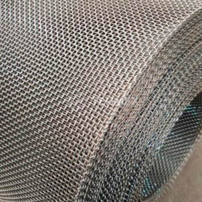 Сетка тканая штукатурная нержавеющая в рулонах 0.4x0.4x0.2 мм