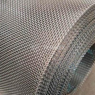 Сетка тканая штукатурная нержавеющая в рулонах 1x1x0.4 мм