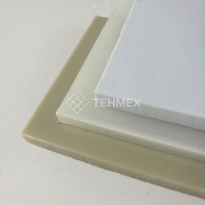 Листовой полипропилен прессованный 16x2000x4000 мм