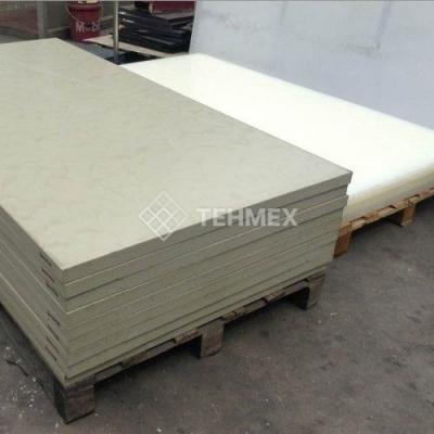 Листовой полипропилен серый 2x1500x3000 мм