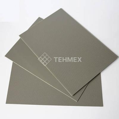 Лист АБС серый 1x1000x3000 мм АБС