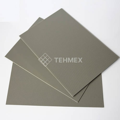 Лист АБС серый 3x1000x2000 мм АБС