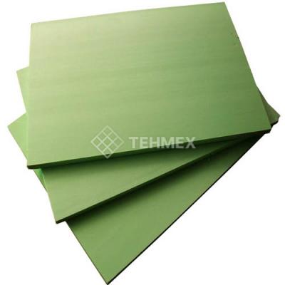 Лист ударопрочный полистирол зеленый 2x2000x3000 мм