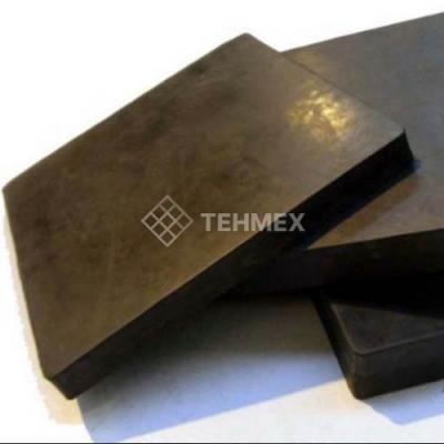 Вибродемпфирующая эластомерная пластина 10x500x500 мм ВЭП